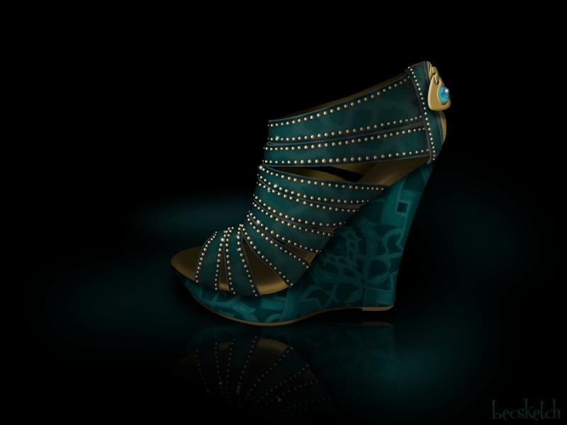 Cette chaussure est inspirée de quel gentil personnage ? (indice : Elle a un tigre)