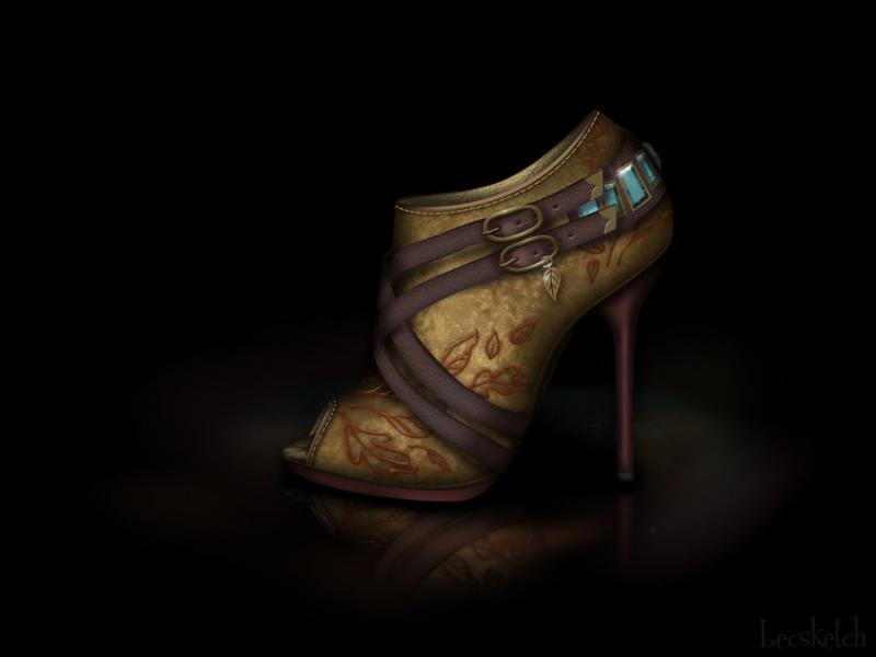 Cette chaussure est inspirée de quel gentil personnage ? (indice : Elle adore la forêt)