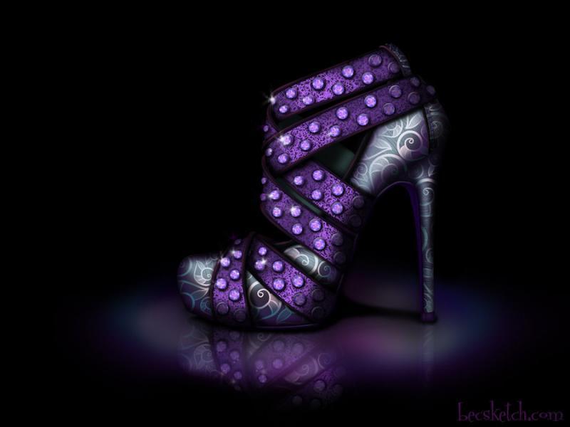 Cette chaussure est inspirée de quel méchant personnage ? (indice : Elle aime les méduses)