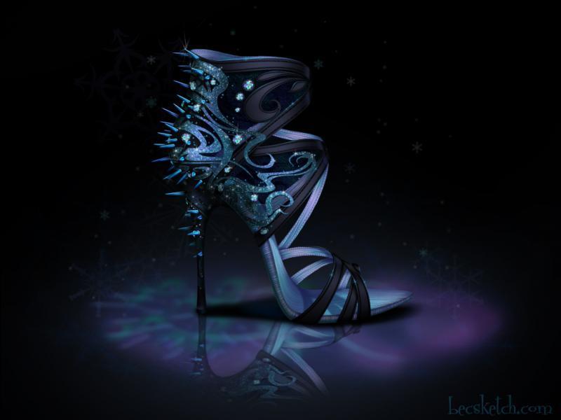 Cette chaussure est inspirée de quel gentil personnage ? (indice : Elle adore la neige et la glace)