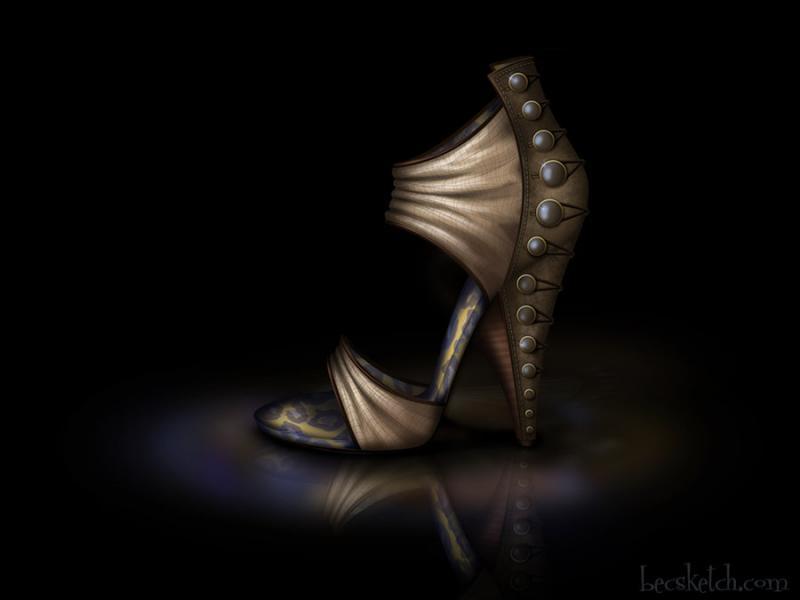 Cette chaussure est inspirée de quel gentil personnage ? (indice : elle est dans la jungle)