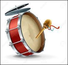 De même que celui indiqué dans la question 3, cet instrument est souvent utilisé pour faire des parades, quel est son nom ?