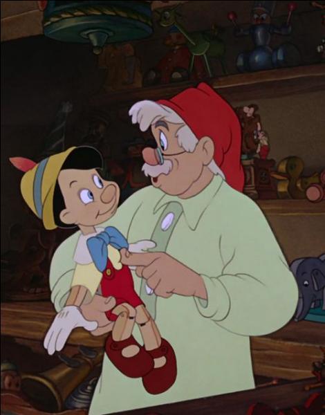 Comment s'appelle le papa de Pinocchio ?