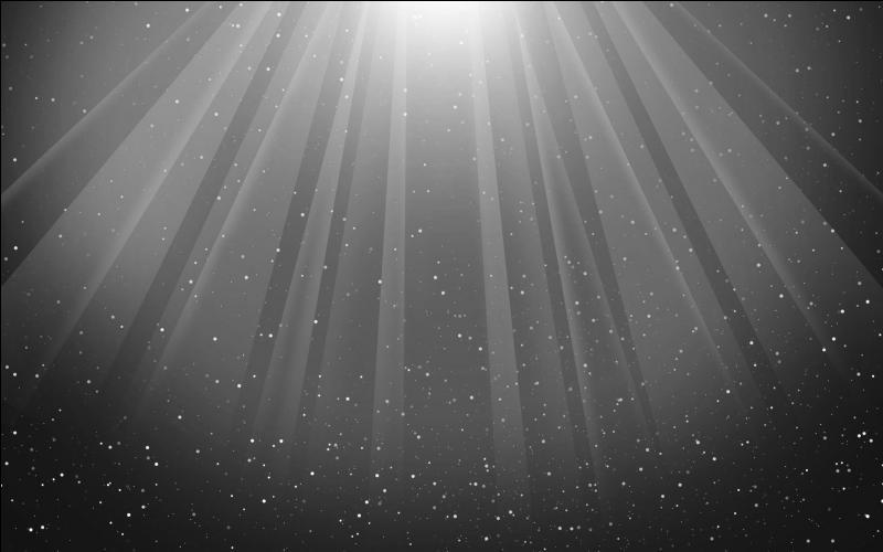 La lumière blanche...