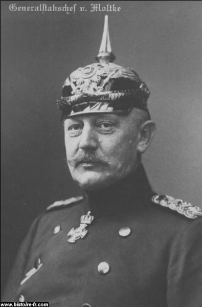 Au tout début de la guerre, qui était le chef du Grand Etat-Major général de l'armée allemande ?
