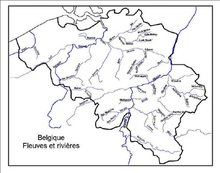 Sur quel fleuve les troupes belges se sont-elles regroupées en octobre 1914 ?