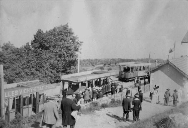 En 1912 combien de voyageurs ont utilisé le chemin de fer du Salève ?