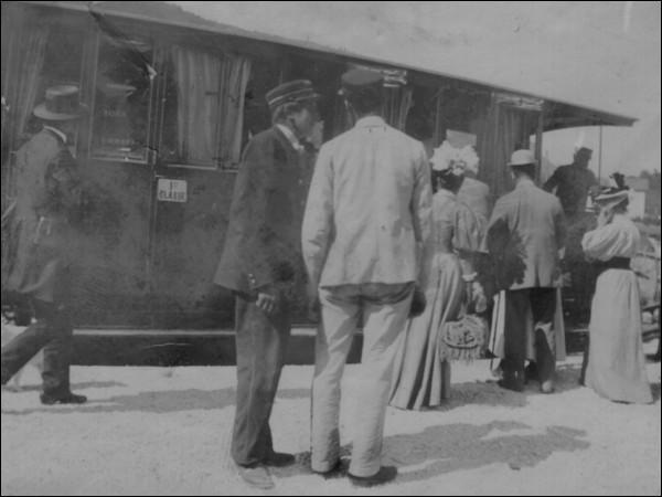Quelle célébrité est montée au Salève par le train ?