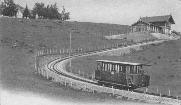 Quel était le mode de traction retenu pour le chemin de fer du Salève ?