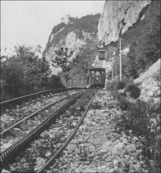 Quel était le type de crémaillère utilisé pour le chemin de fer du Salève ?