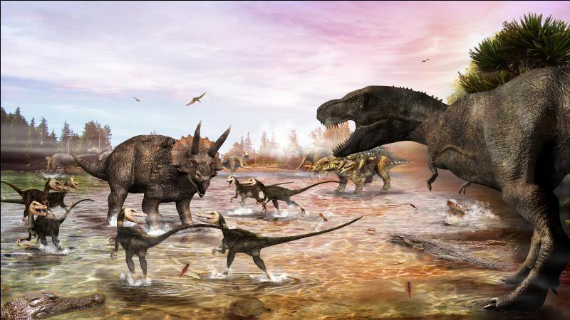 A la fin de quelle période géologique ont vécu les derniers dinosaures ?