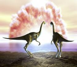 L'extinction des dinosaures (dinosaure & disparition)