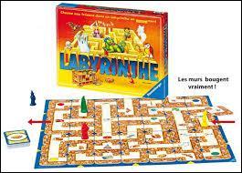 """Durant quelle décennie est apparue le jeu appelé """"Labyrinthe"""" ?"""