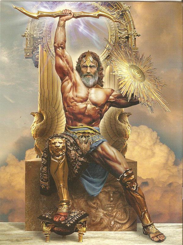 Dieux grecs (1) : Zeus