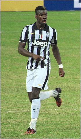 Depuis quelle année Paul Pogba travaille-t-il à la Juventus FC ?