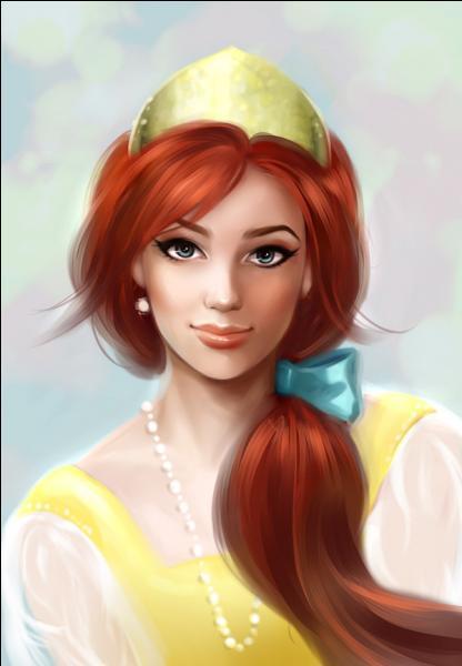 Comment s'appelle cette jeune princesse dans le film porte le même nom qu'elle ? (Le film est principalement chanté par cette jeune femme.)