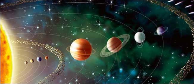 U - Uranus est la septième planète du système solaire.