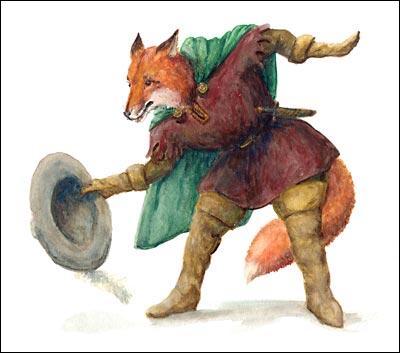R - Renart est le héros d'une série de fables écrites au Moyen Âge par plusieurs auteurs, la plupart étant inconnus.