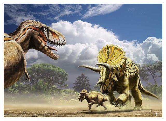 Familles de dinosaures 2 (dinosaure théropode non carnassier)