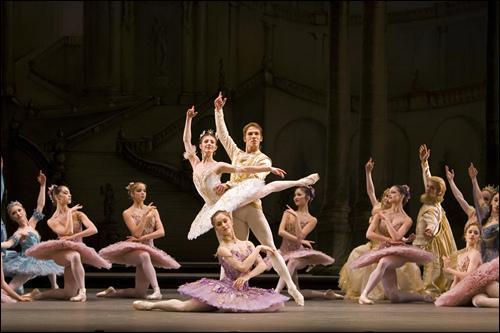 Elle faisait partie de quelle compagnie de ballet ?