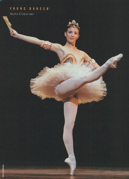 La gracieuse Alina Cojocaru