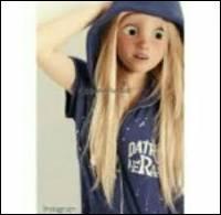Qui est cette jeune demoiselle connue pour sa longue chevelure ?