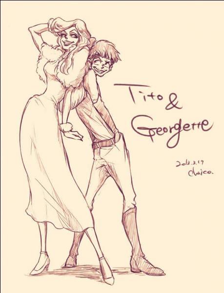 Dans quel film retrouvons-nous ces deux personnages qui sont Tito & Georgette ?