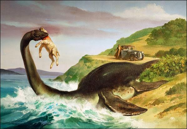 Le monstre du Loch Ness ou Nessie n'est pas observé seulement dans le Loch Ness. Il s'agit d'un animal marin, surtout vu dans les océans. Il est généralement décrit comme ressemblant à un serpent de mer ou à un reptile marin de la famille des :