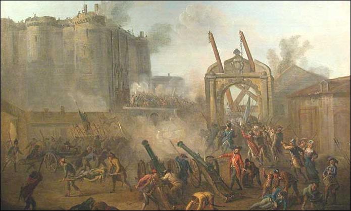 En quelle année y a-t-il eu la prise de la Bastille ?