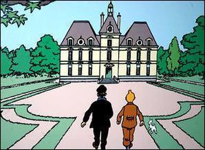 Dans les aventures de Tintin, pour dessiner le château de Moulinsart, Hergé s'est inspiré d'un château de la Loire. Lequel ?