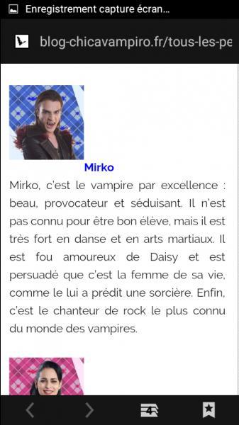 Pourquoi Daisy a été obligé d'être la petite amie de Mirko ?