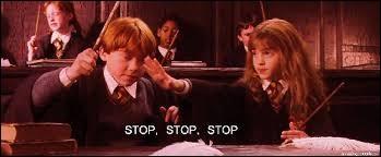 """Que dit Hermione Granger dans """"Harry Potter à l'école des sorciers"""" ?"""