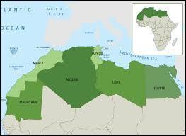 Quel est l'emplacement géographique de l'Algérie ?