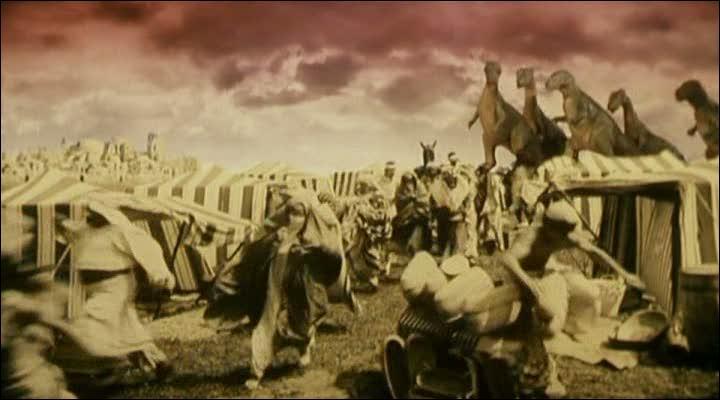 Quel est ce film tchécoslovaque de 1970 où une comète, après avoir heurté la Terre en 1888, emporte avec elle une partie de l'Afrique du Nord en faisant resurgir des créatures préhistoriques ?