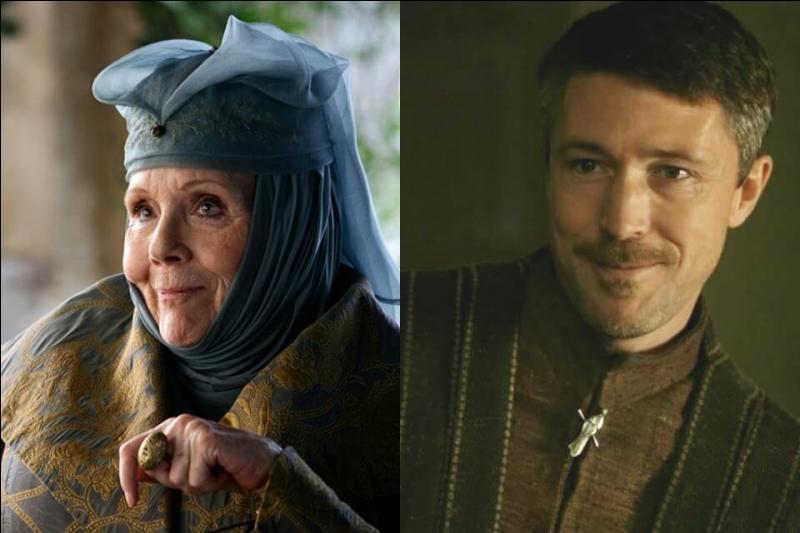 Où se rencontrent Olenna Tyrell et Petyr Baelish ?