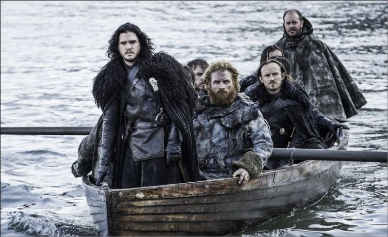Comment Jon arrive-t-il à tuer le Marcheur blanc qui l'attaquait ?