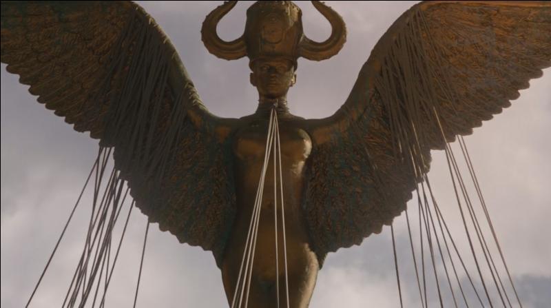 À qui/quoi fait référence cette statue ?