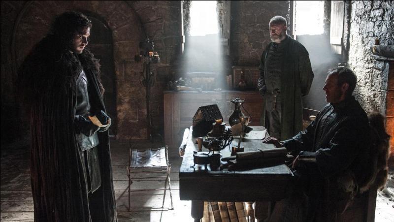 Que propose Lord Stannis Baratheon à Jon Snow ?