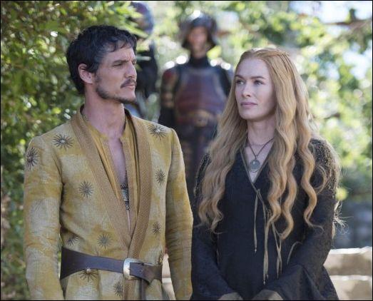 Que reçoit Cersei de la part des Martell ?