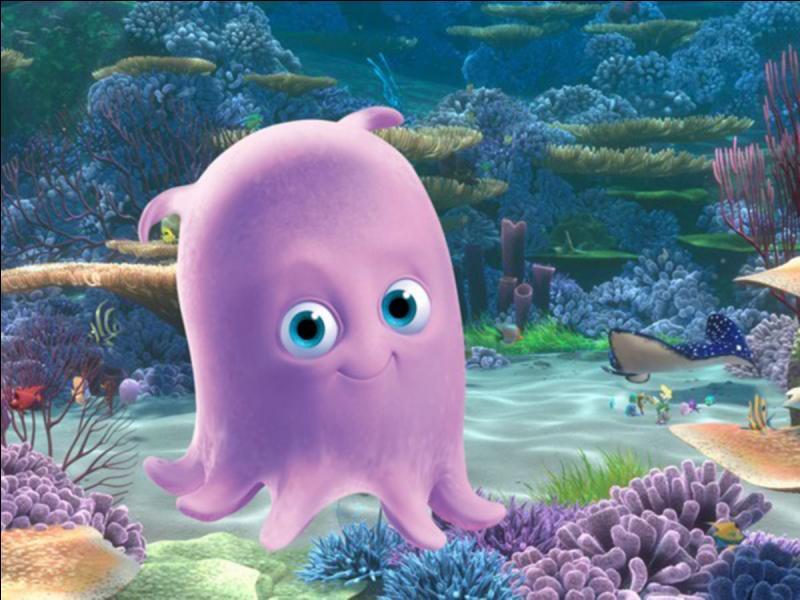 Dans quel film d'animation sorti 2003 peut-on rencontrer Perle, une petite pieuvre rose ?