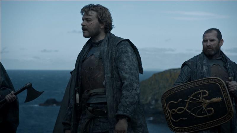 """Quelle famille de la série """"Game of Thrones"""" a pour emblème """"une seiche d'or sur champ noir"""" ?"""