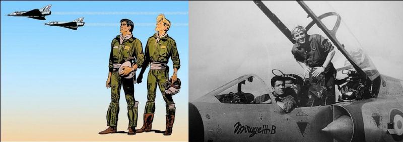 En 1959, une future série de BD apparaît. Elle met en scène deux héros appréciant les mirages, surtout ceux de la IIIe génération !Quelle est cette BD ?