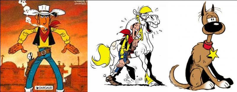 En 1965, ses créateurs de ce héros le rapatrient de Spirou vers Pilote. Il existe depuis 1946 et oppose régulièrement le héros de cette série à quatre malfaisants personnages. On peut noter la présence de deux animaux. L'un d'eux est intelligent, l'autre, beaucoup moins.Quelle est cette BD ?