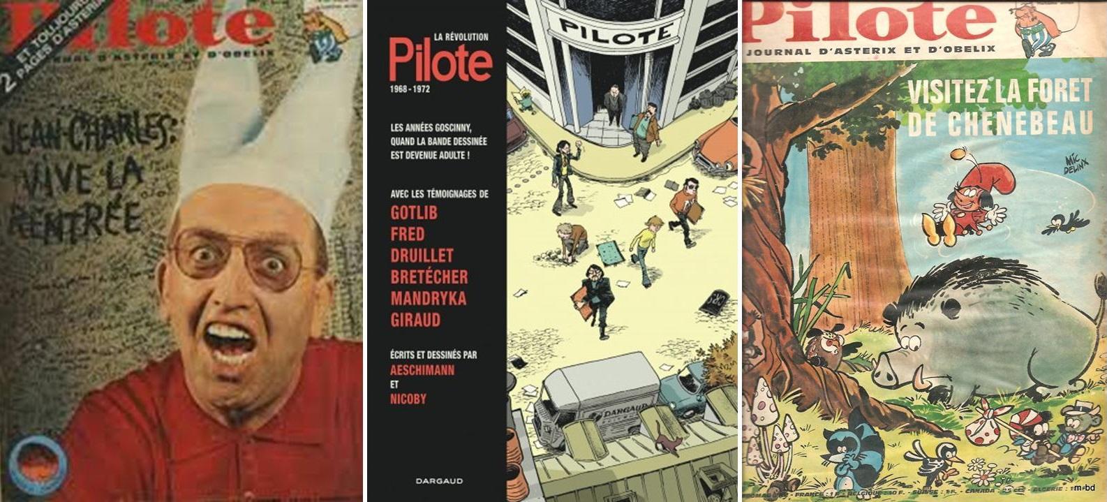 Connaissez-vous bien la revue de bandes dessinées « Pilote » ?