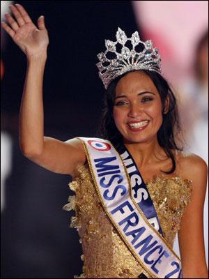 Qui a été élue Miss France 2008 ?