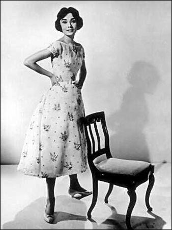 Dans quel film joue-t-elle avec Gary Cooper et Maurice Chevalier?