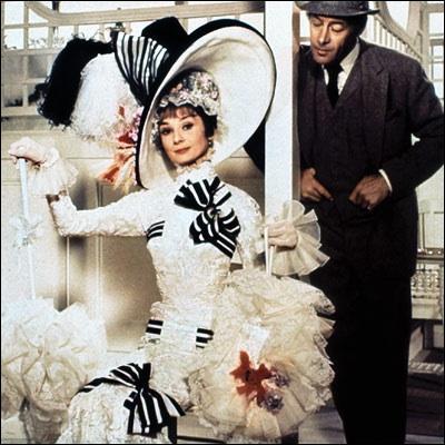 Dans le film de George Cukor, My Fair Lady, qui est son partenaire (qui aura d'ailleurs un Oscar pour cette interprétation) ?