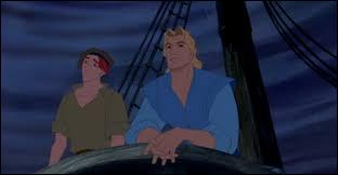 Un navire anglais arrive en Amérique du Nord. Lors du voyage, une tempête survient et le capitaine John Smith va sauver un jeune colon. Comment s'appelle-t-il ?