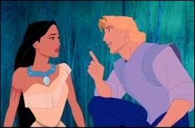 John et Pocahontas vont se rencontrer et faire connaissance. Il lui explique qu'il cherche de l'or avec ses compagnons. Que va-t-elle lui apprendre ?