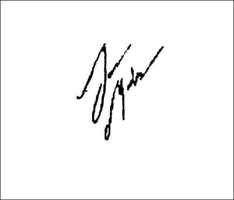 Est-ce sa signature ?